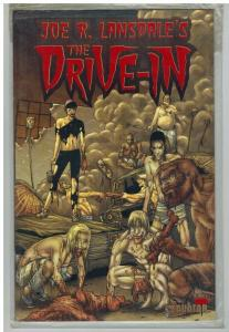 DRIVE IN 4 VF-NM  BLOOD RED FOIL LIMITED EDITION