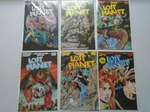 Lost Planet set #1-6 8.0 VF (1987 Eclipse)