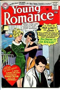 YOUNG ROMANCE #136 1965-DC ROMANCE-JAILBAIT CVR! VG+