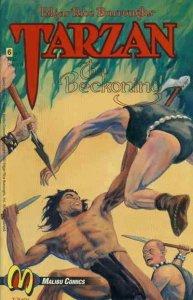 Tarzan: The Beckoning #6 FN; Malibu | save on shipping - details inside