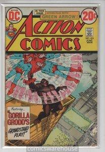 ACTION COMICS (1938 DC) #424 FN+ A11920