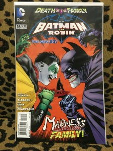 BATMAN and ROBIN: THE NEW 52 - DC - 15 ISSUE LOT - 2013-09 VF+ Never Read