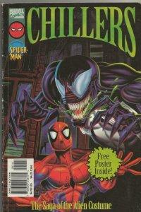Marvel Chillers Saga of the Alien Costume VINTAGE 1996 TPB Spiderman Venom