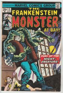 Frankenstein, the Monster of #14 (Jan-75) VF/NM High-Grade Frankenstein