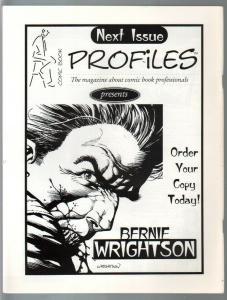 Comic Book Profiles #1 Winter 1998-1st issue-Joe Kubert issue-VF