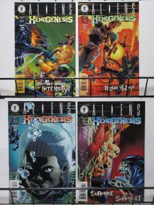 ALIENS XENOGENESIS #1-4(Dark Horse,1999) VF-NM The Future of xenomorphs!