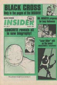 Dark Horse Insider (1989 series) #4, VF+ (Stock photo)