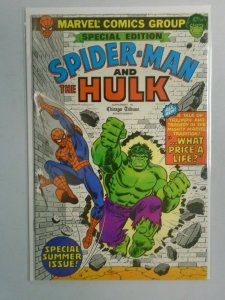 Spider-Man and The Hulk Chicago Tribune Edition #1 7.0 FN VF (1980)