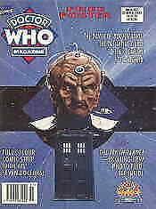 Doctor Who Magazine #207 FN; Marvel UK | save on shipping - details inside