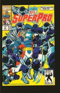 Marvel Comics NFL Superpro Vol 1 No 9 June 1992