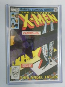 Uncanny X-Men #169 Direct edition 8.0 VF (1983 1st Series)