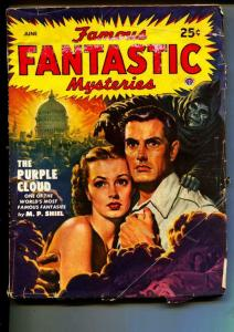 Famous Fantastic Mysteries-Pulp-6/1949-M. P. Shiel-Purple Cloud