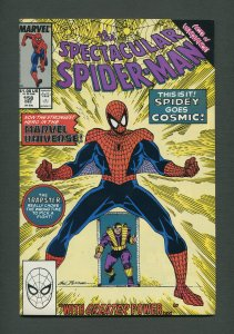 Peter Parker,Spectacular Spiderman #158 / 9.4 NM - 9.6 NM+  December 1989