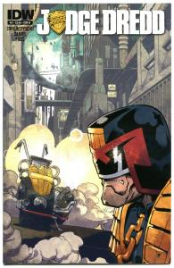 JUDGE DREDD #3 B, NM, IDW,  2012, Sci-fi, Police, I am the Law, more in store