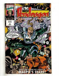 Knights of Pendragon (UK) #5 (1992) YY4