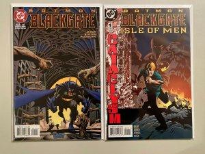 Batman Blackgate & Isle of Men #1s NM (1997+98)