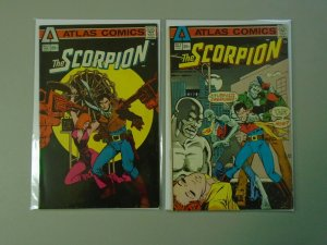Scorpion #1+2 5.0 VG FN (1975 Atlas)