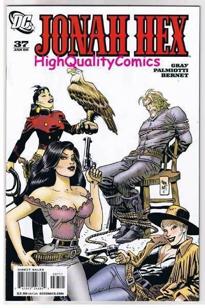 JONAH HEX #37, NM+, Gray, Palmiotti, Jordi Bernet, 2006, more JH in store