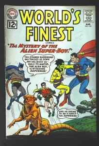 World's Finest Comics #124, VG+ (Actual scan)