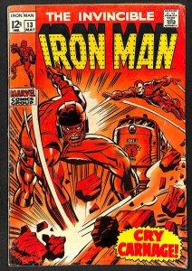 Iron Man #13 GD/VG 3.0 Marvel Comics