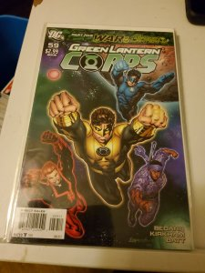 Green Lantern Corps #59 (2011)
