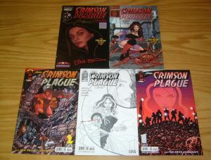 Crimson Plague vol. 2 #1-2 VF/NM complete series + rare variants - george perez