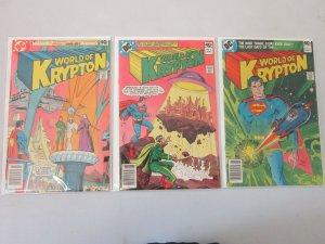 World of Krypton Set #1-3 8.0 VF (1979)