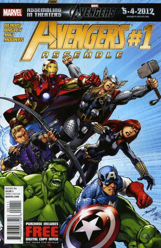 Avengers Assemble (4th Series) #1 VF/NM; Marvel | save on shipping - details ins
