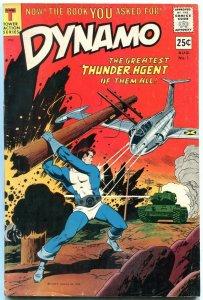 DYNAMO #1-1966-CRANDALL/WOOD/DITKO FN