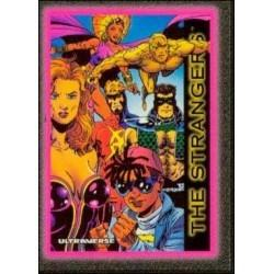1993 Skybox Ultraverse: Series 1 THE STRANGERS #90