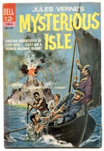 Jules Verne Mysterious Isle #1 1963- Silver Age Dell comic-G/VG