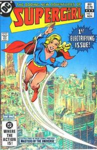 Daring New Adventures of Supergirl #1, VF+ (Stock photo)