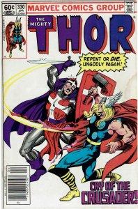 Thor #330 (1966 v1) 1st Crusader Newsstand VF