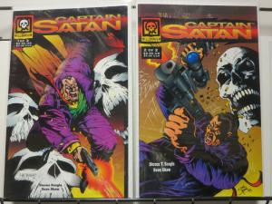 CAPTAIN SATAN (1994 MILLENNIUM) 1-2  complete!