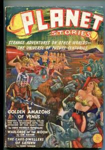 PLANET STORIES-#1-WTR 1939-PULP-SCI-FI-AMAZONS-SOUTHERN STATES PEDIGREE-g/vg