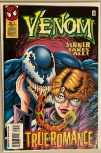 Venom sinner takes all! final issue #5 8.0 VF (1995)