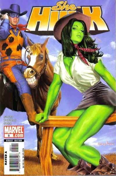 She-Hulk (2005 series) #5, NM (Stock photo)