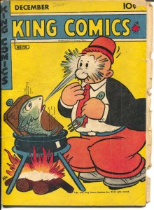 King Comics #128 1946-newspaper comic strip reprints-Popeye=Phantom-G