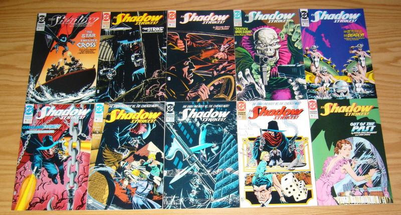 the Shadow Strikes #1-31 VF/NM complete series + annual - dc comics set lot
