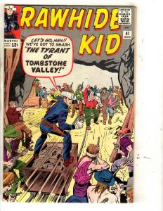 Rawhide Kid # 41 VF/NM Marvel Silver Age Comic Book Cowboy Western Two-Gun JL10