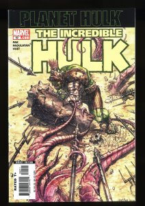 Incredible Hulk #92 Planet Hulk Begins!