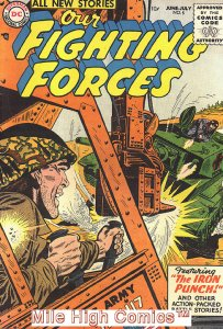 OUR FIGHTING FORCES (1954 Series) #5 Fine Comics Book