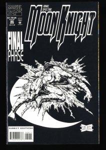 Marc Spector: Moon Knight #60 VF/NM 9.0 Last Issue!