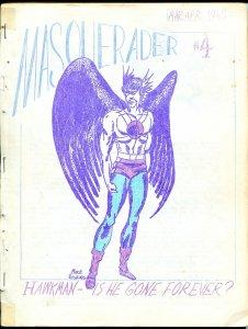 Masquerader #4 1963-Mike Vosburg-Hawkman-AstroAce-Biljo White-G/VG