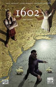MARVEL 1602 #8, NM+, Neil Gaiman, Kubert, Thor, DD, X-men, Richard Isanove, 2003