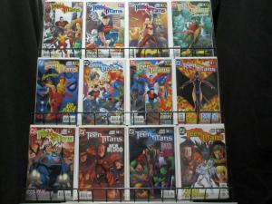 TEEN TITANS (2003) 1-57,Annual 1  BAGGED & BOARDED!