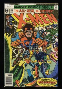 X-Men #107 VG+ 4.5 Marvel Comics 1st Full Starjammers!
