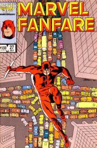 Marvel Fanfare (1982 series) #27, NM (Stock photo)