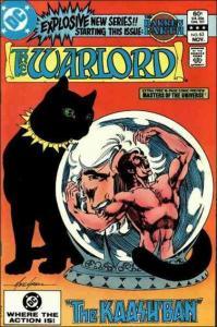 DC WARLORD (1976 Series) #63 VF