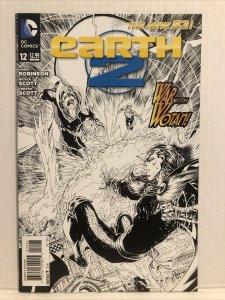 Earth 2 #12 Sketch Variant